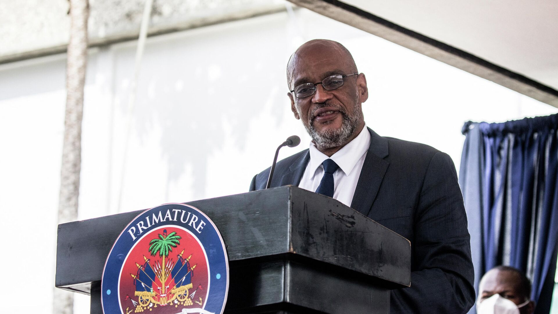 Ariel Henry, primer ministro de Haití - Sputnik Mundo, 1920, 14.09.2021