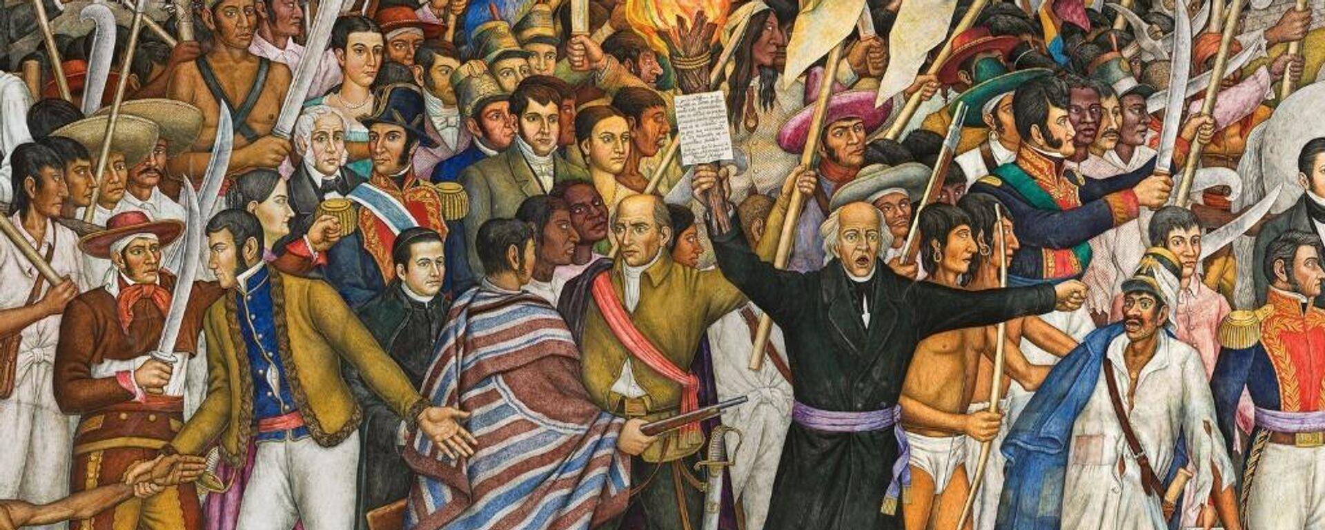 Retablo de la Independencia - Sputnik Mundo, 1920, 15.09.2021