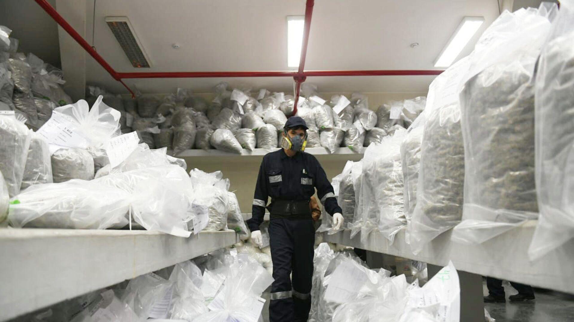 Drogas incautadas por la Policía de Perú - Sputnik Mundo, 1920, 15.09.2021