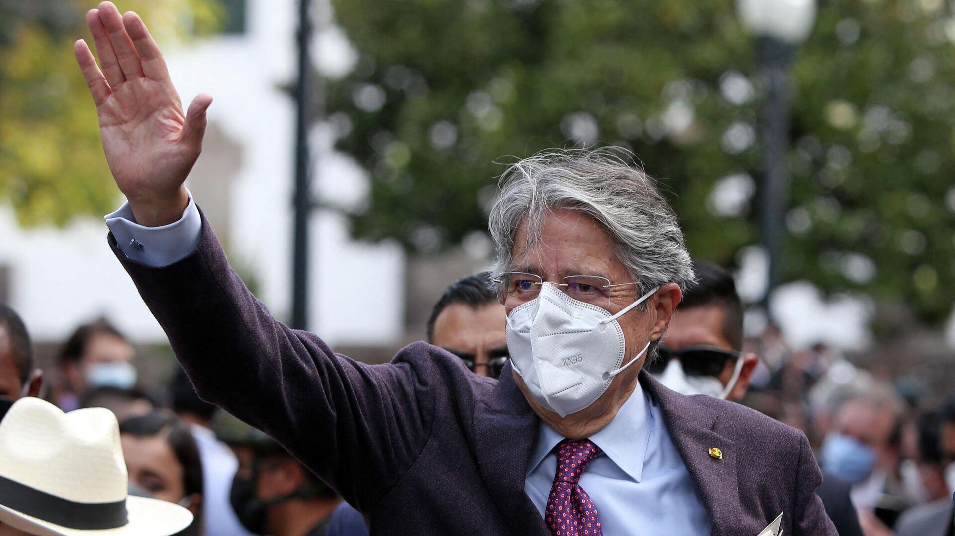 Guillermo Lasso, presidente de Ecuador - Sputnik Mundo, 1920, 15.09.2021