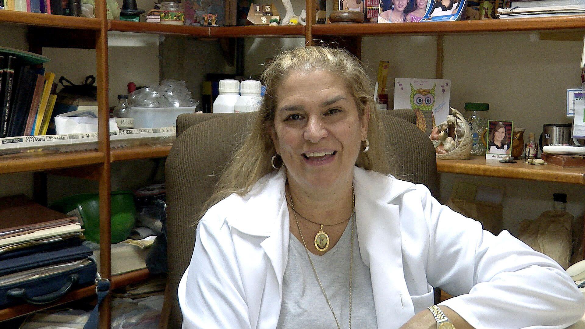 María del Pino Rodríguez, bióloga en integrante del proyecto Detección de SARS-CoV-2 en Aguas Servidas - Sputnik Mundo, 1920, 15.09.2021
