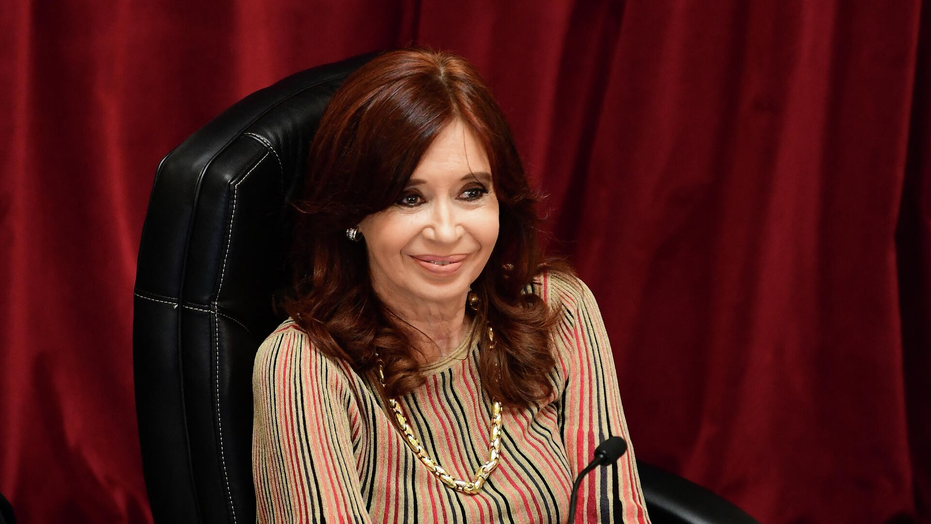 Cristina Fernández de Kirchner, vicepresidenta argentina  - Sputnik Mundo, 1920, 15.09.2021