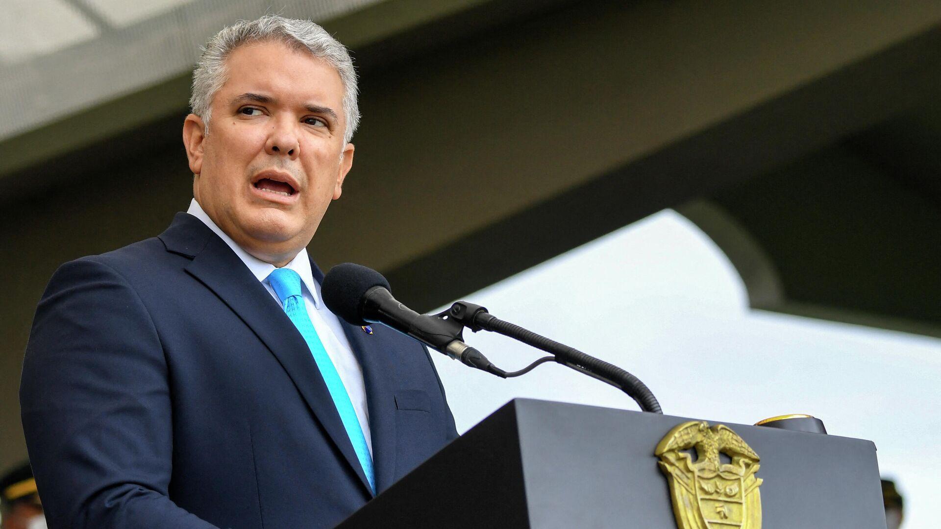 Iván Duque, presidente de Colombia - Sputnik Mundo, 1920, 16.09.2021