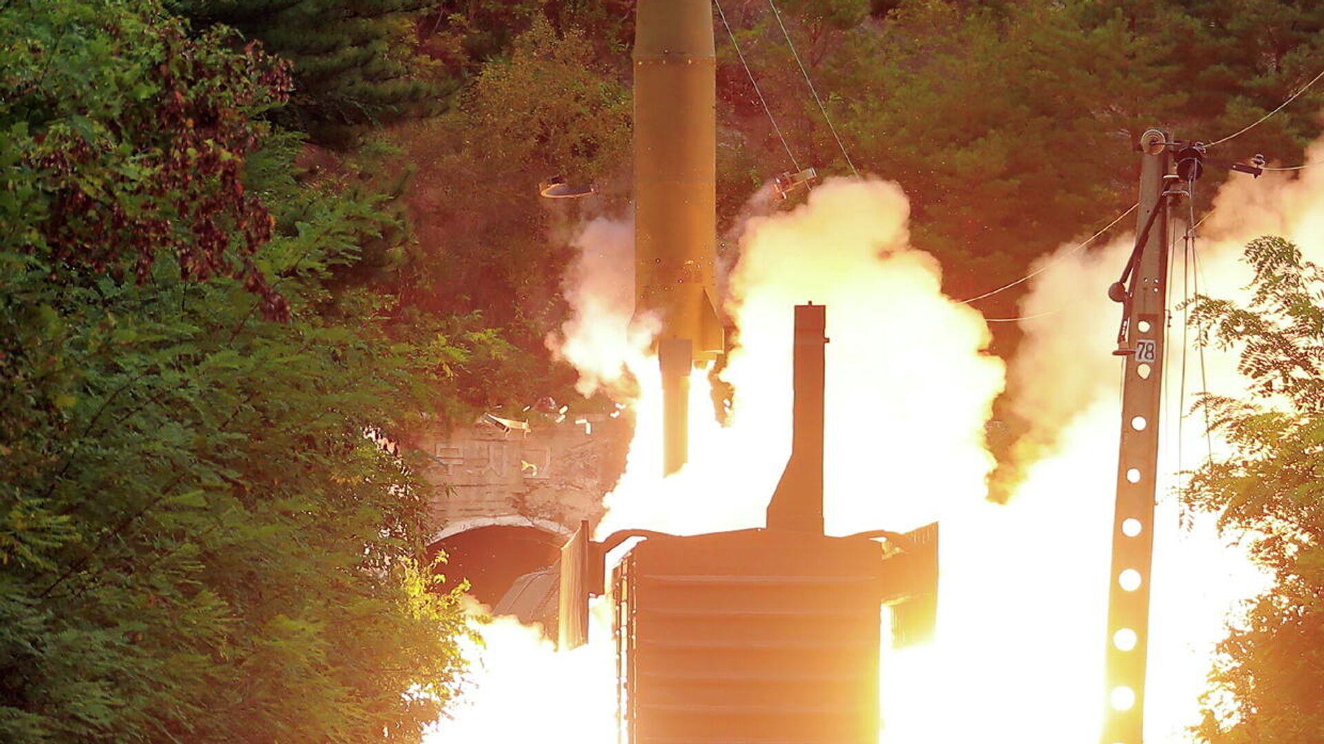 El sistema de misiles ferroviario norcoreano - Sputnik Mundo, 1920, 16.09.2021