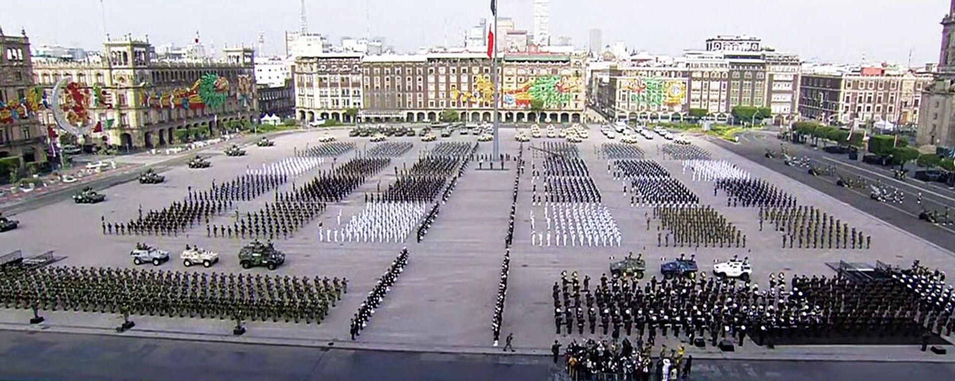 Desfile militar en México por los 200 años de la consumación de la Independencia  - Sputnik Mundo, 1920, 16.09.2021