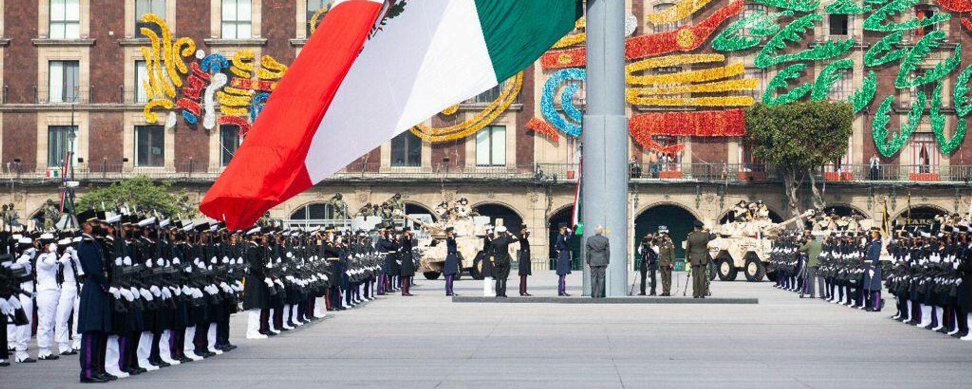 Desfile por Independencia de México - Sputnik Mundo, 1920, 16.09.2021