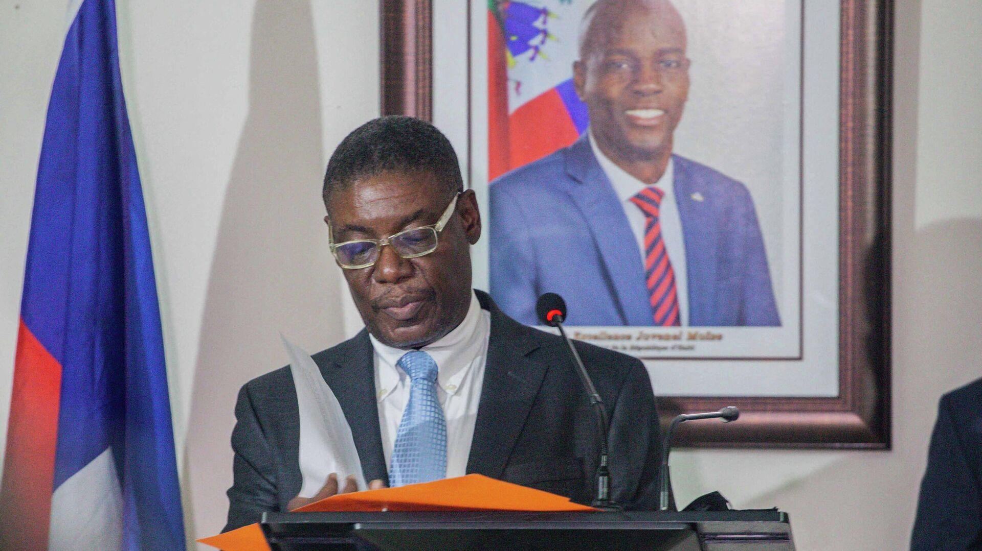 Ministro de Interior de Haití, Liszt Quitel - Sputnik Mundo, 1920, 16.09.2021