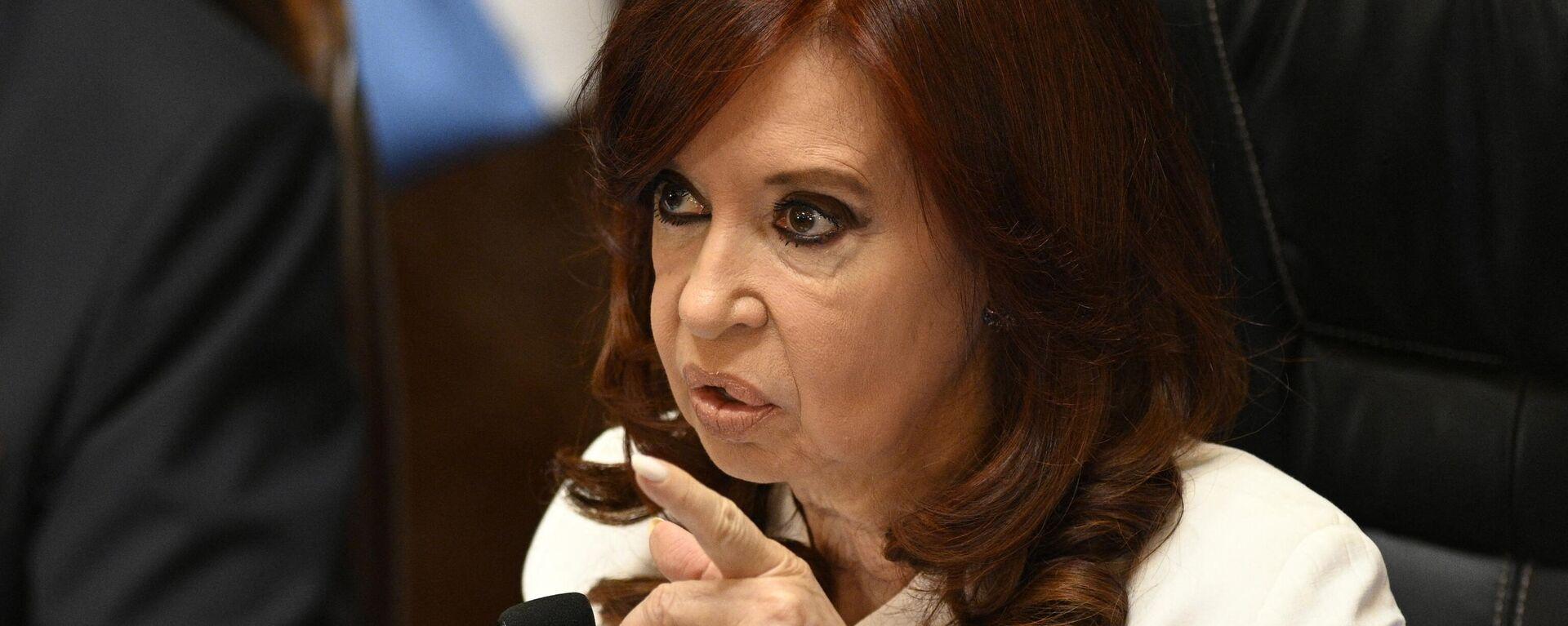 Cristina Fernández de Kirchner, vicepresidenta de Argentina - Sputnik Mundo, 1920, 16.09.2021