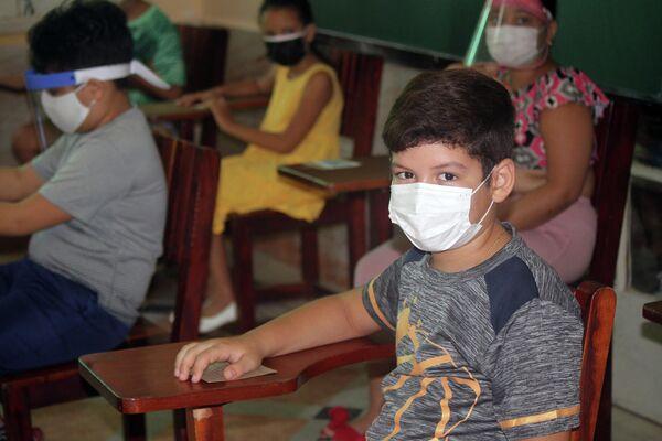 Niños vacunados en Cuba - Sputnik Mundo
