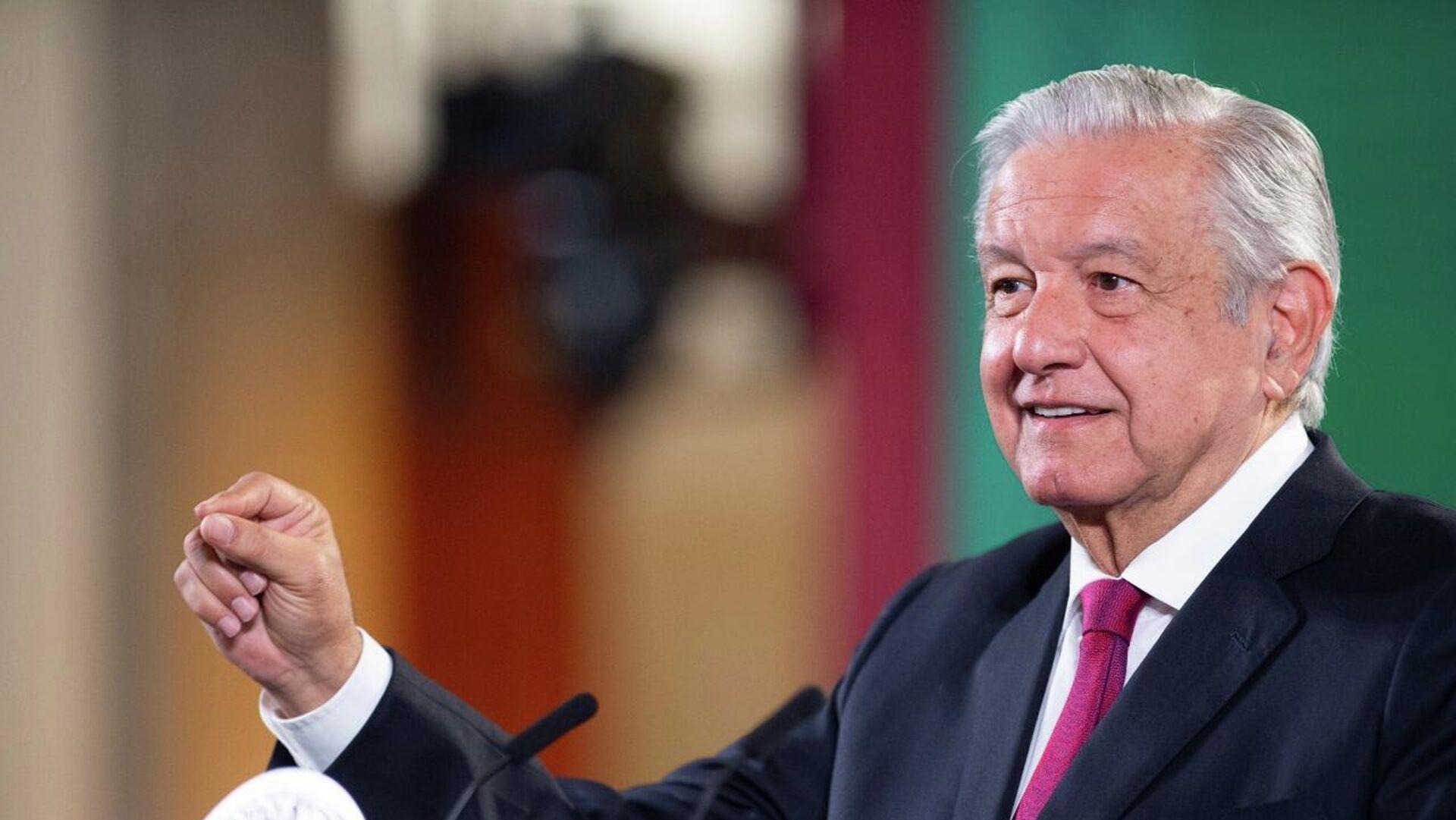 Andrés Manuel López Obrador, presidente de México - Sputnik Mundo, 1920, 17.09.2021