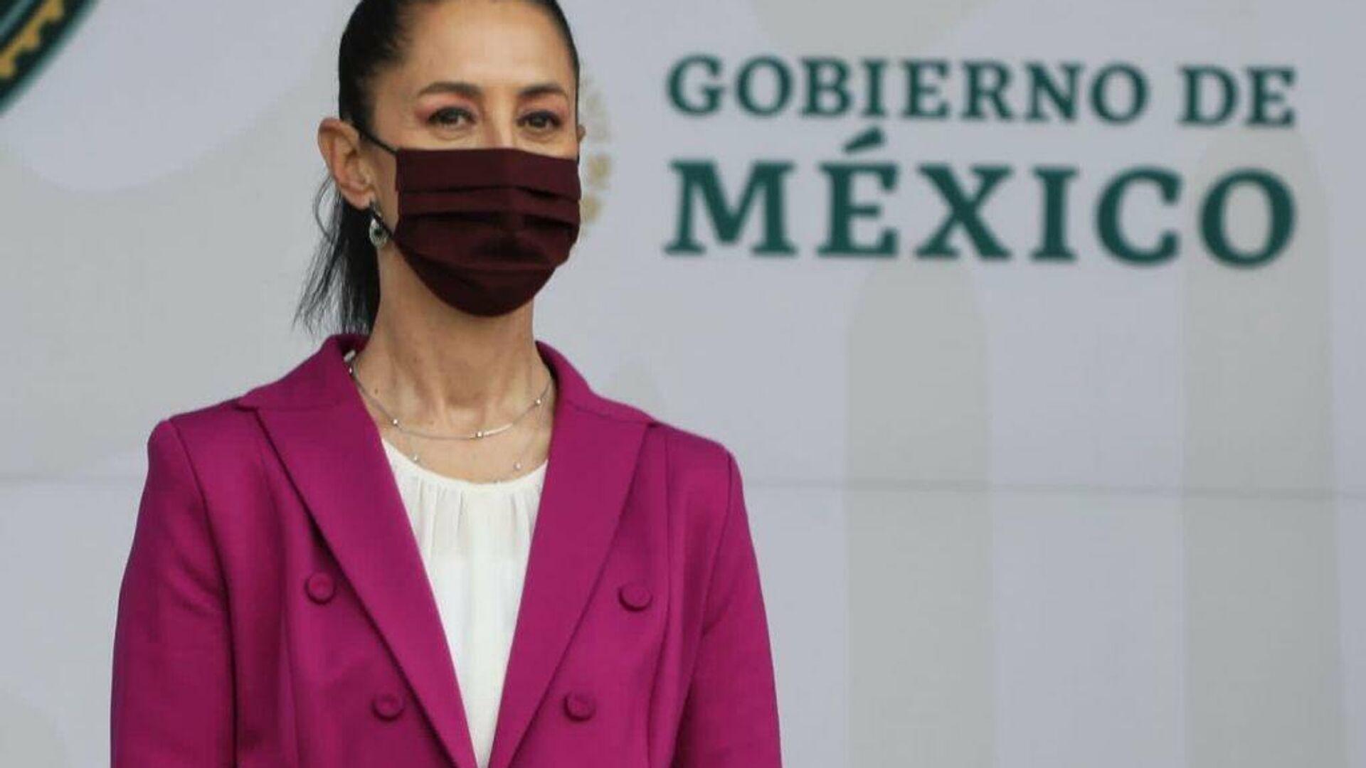 Claudia Sheinbaum, Jefa de gobierno de la Ciudad de México - Sputnik Mundo, 1920, 17.09.2021