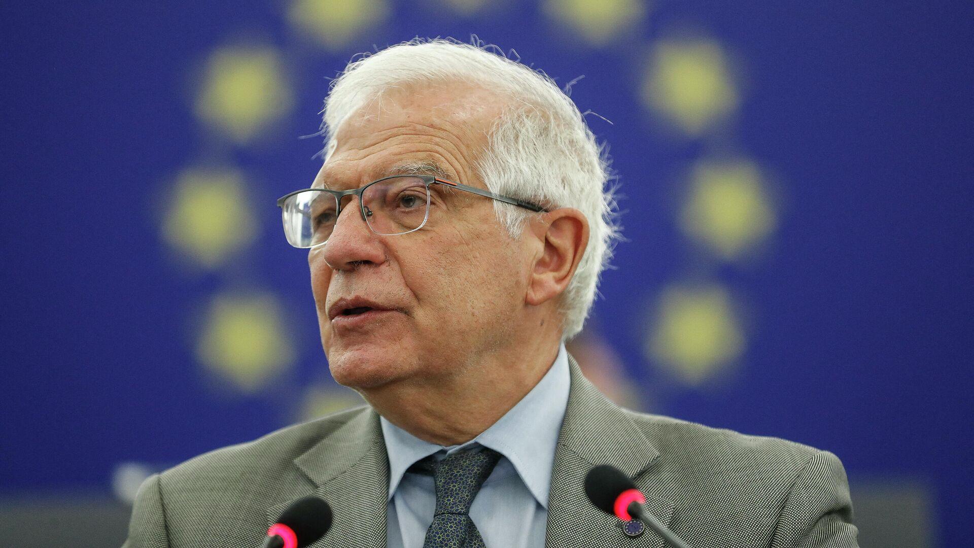 El alto representante para la Política Exterior de la Unión Europea, Josep Borrell - Sputnik Mundo, 1920, 17.09.2021