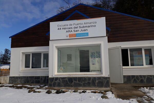 La escuela 44 Héroes del Submarino ARA San Juan, en Puerto Almanza, Tierra del Fuego - Sputnik Mundo