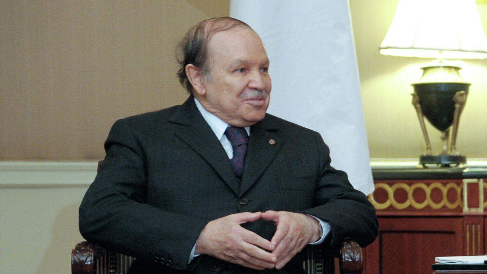 bdelaziz Buteflika, expresidente de Argelia - Sputnik Mundo, 1920, 17.09.2021