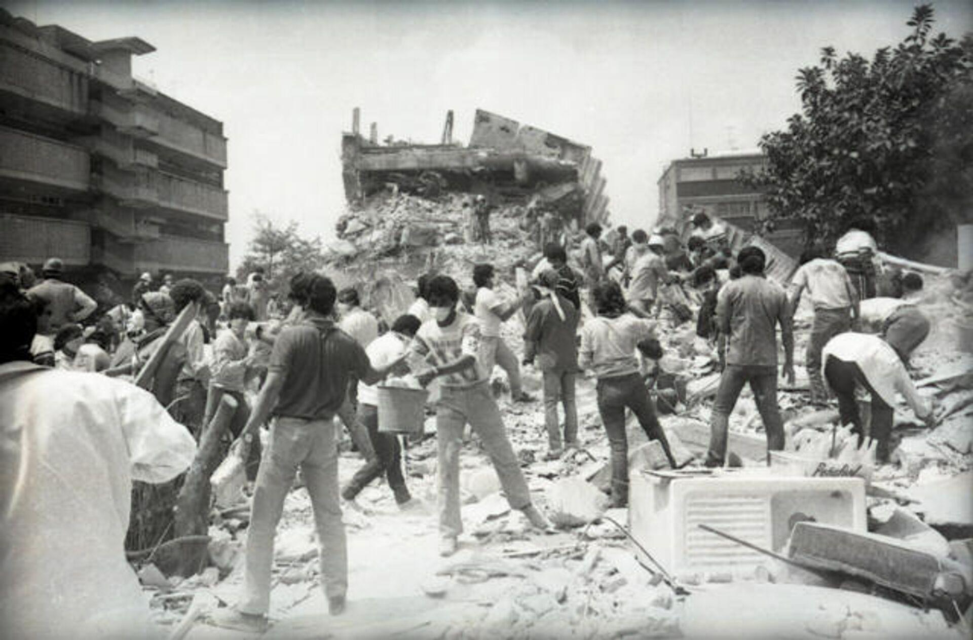 El terremoto del 85 afectó, sobre todo, la zona centro de la CDMX - Sputnik Mundo, 1920, 18.09.2021
