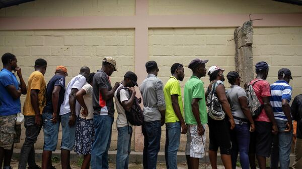 Desplazados en Haití (Archivo) - Sputnik Mundo