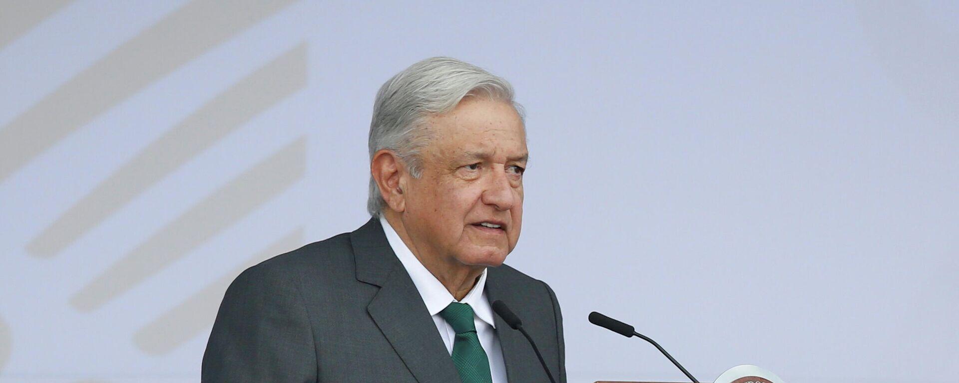 Andrés Manuel López Obrador, presidente de México - Sputnik Mundo, 1920, 21.09.2021