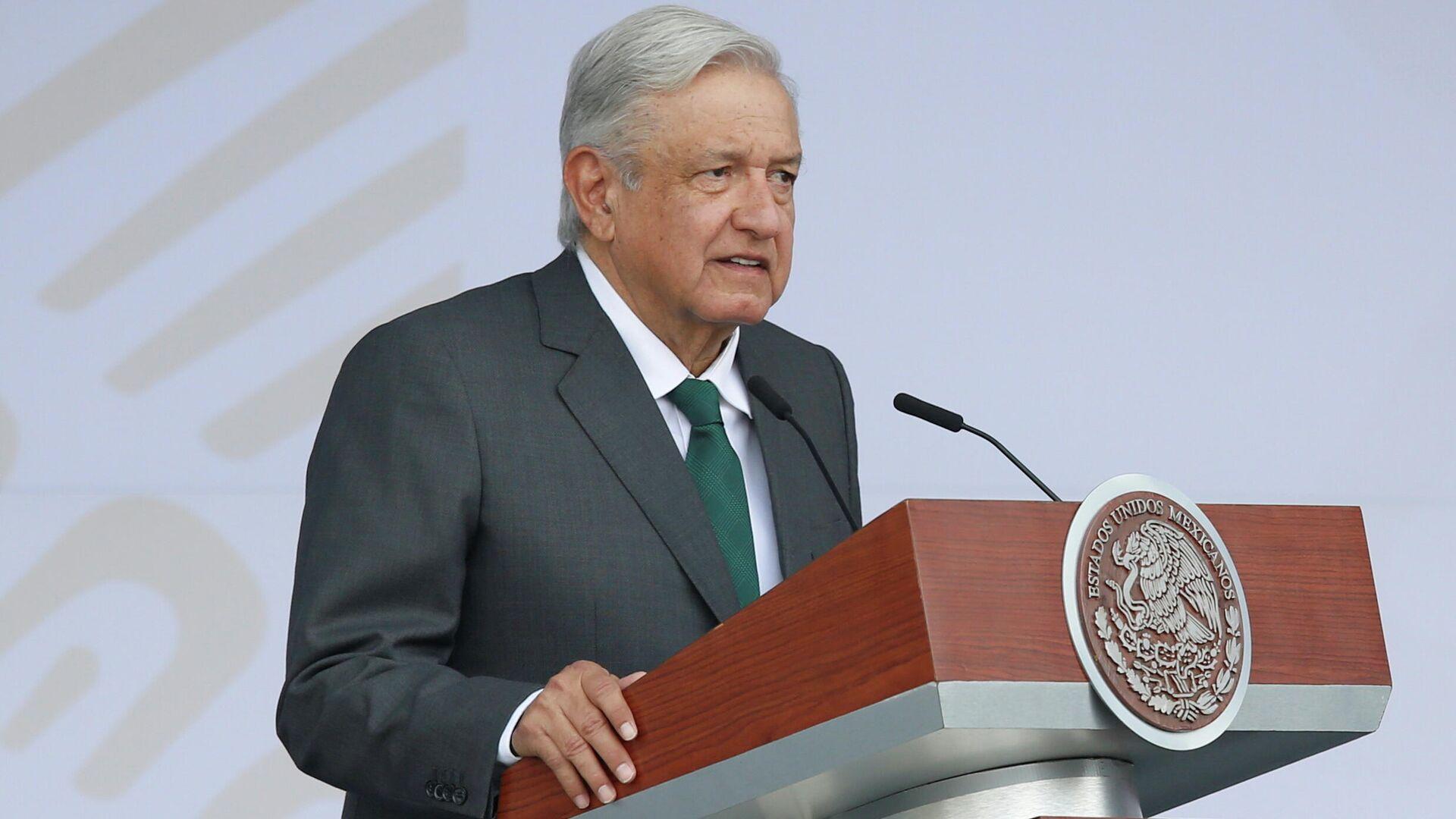 Andrés Manuel López Obrador, presidente de México - Sputnik Mundo, 1920, 18.09.2021