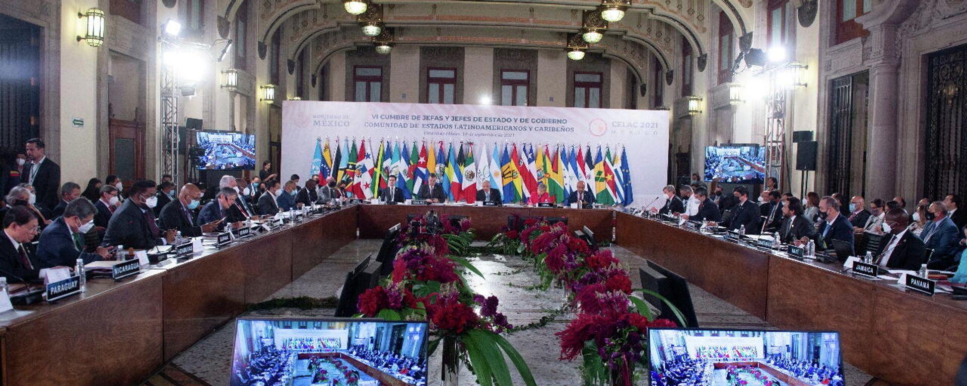 La VI Cumbre de la Comunidad de Estados Latinoamericanos y Caribeños (CELAC) - Sputnik Mundo, 1920, 18.09.2021