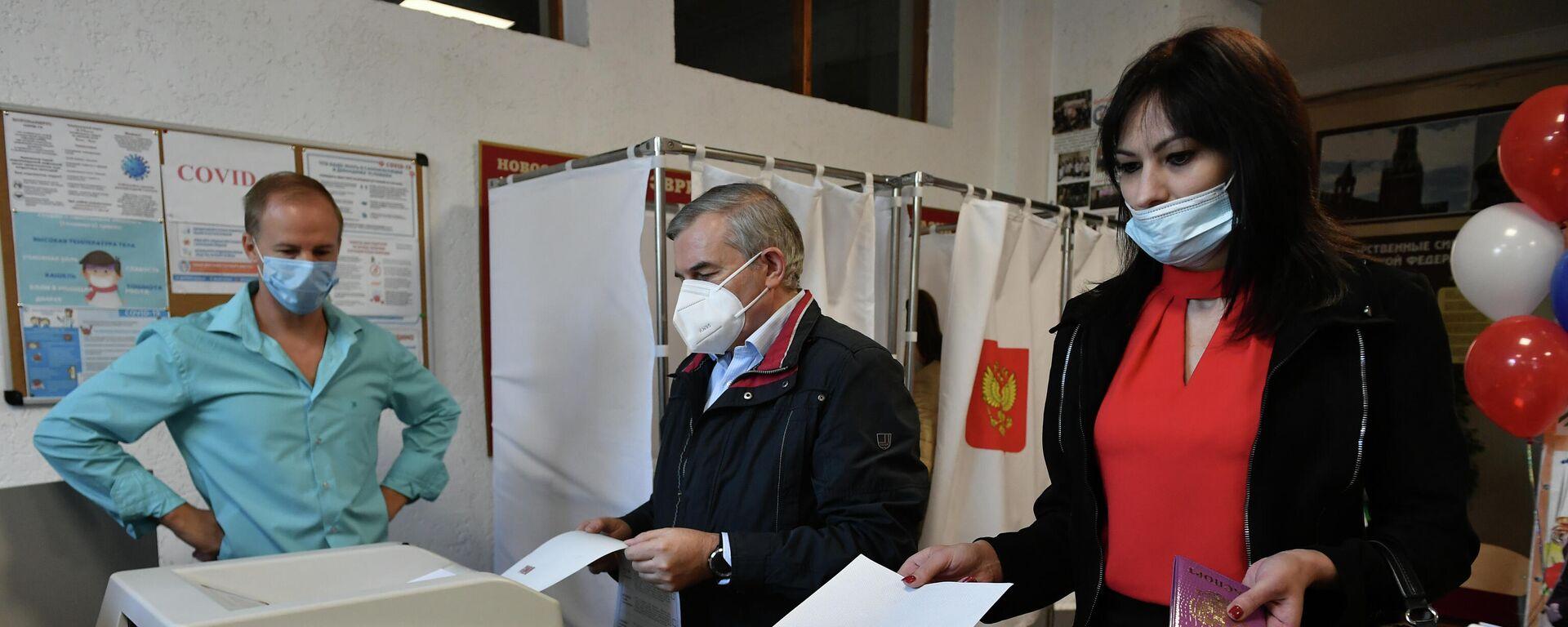 Elecciones en Crimea - Sputnik Mundo, 1920, 18.09.2021