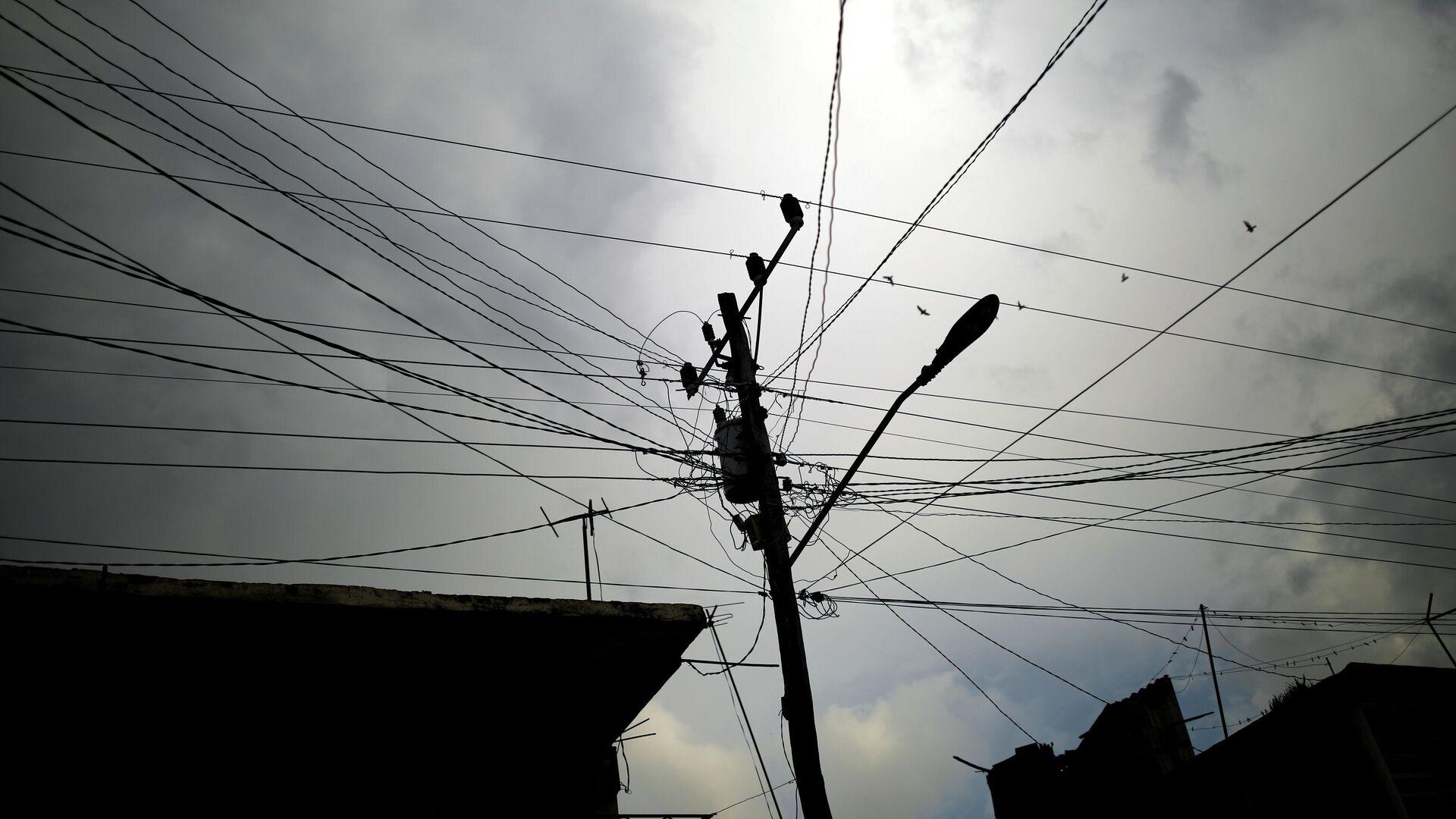 Los cables de electricidad en Cuba - Sputnik Mundo, 1920, 19.09.2021