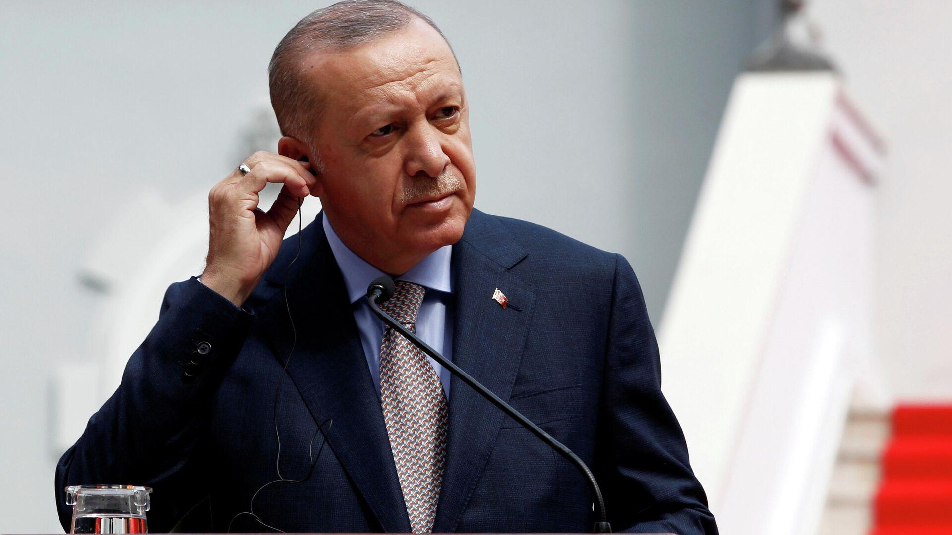 Recep Tayyip Erdogan, presidente de Turquía - Sputnik Mundo, 1920, 19.09.2021