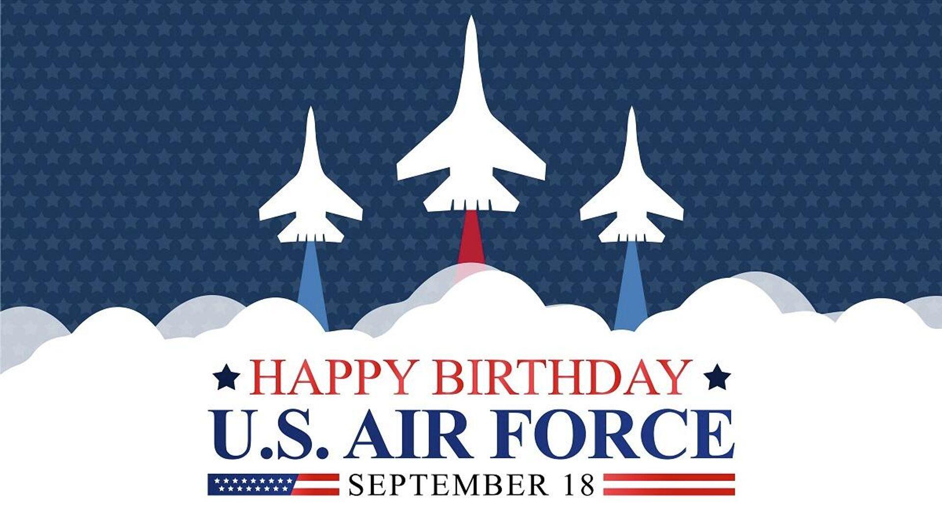 El aniversario de las Fuerzas Aéreas de EEUU, el 18 de septiembre  - Sputnik Mundo, 1920, 19.09.2021