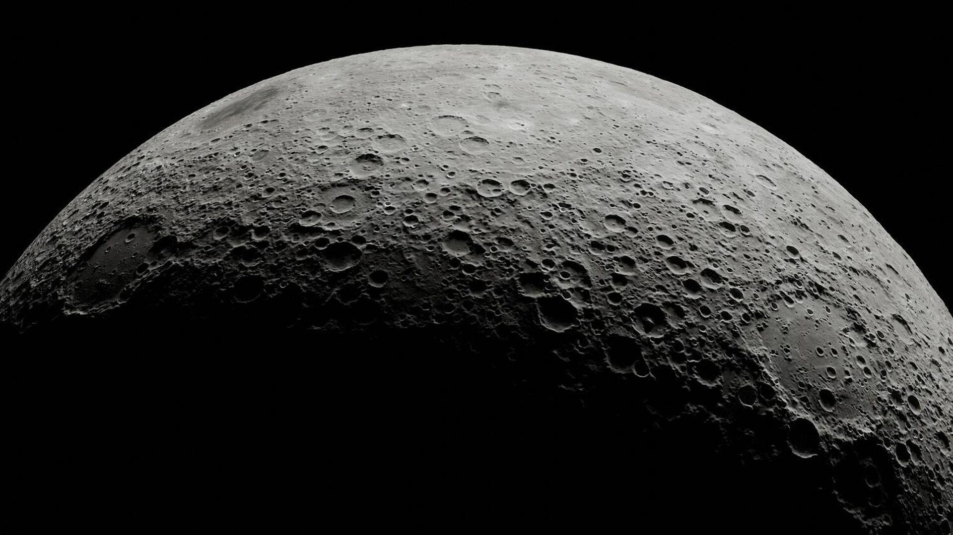 La superficie de la Luna, ilustración - Sputnik Mundo, 1920, 19.09.2021