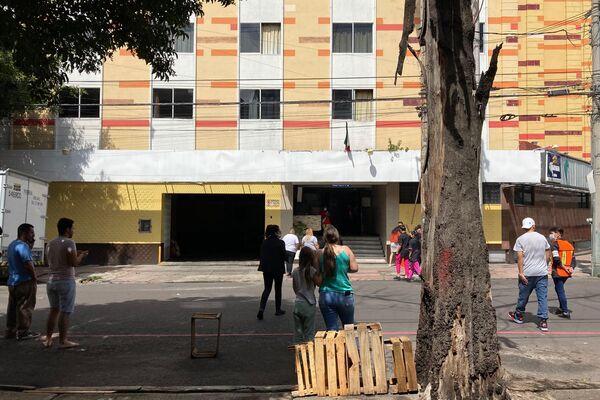 Vecinos de la colonia Doctores en CDMX participan en el segundo Simulacro Nacional - Sputnik Mundo