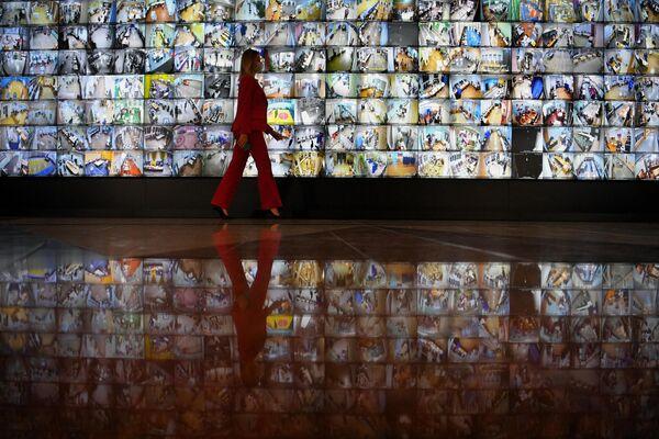 Sala del centro de informativo del Comité Electoral de Rusia en Moscú. - Sputnik Mundo