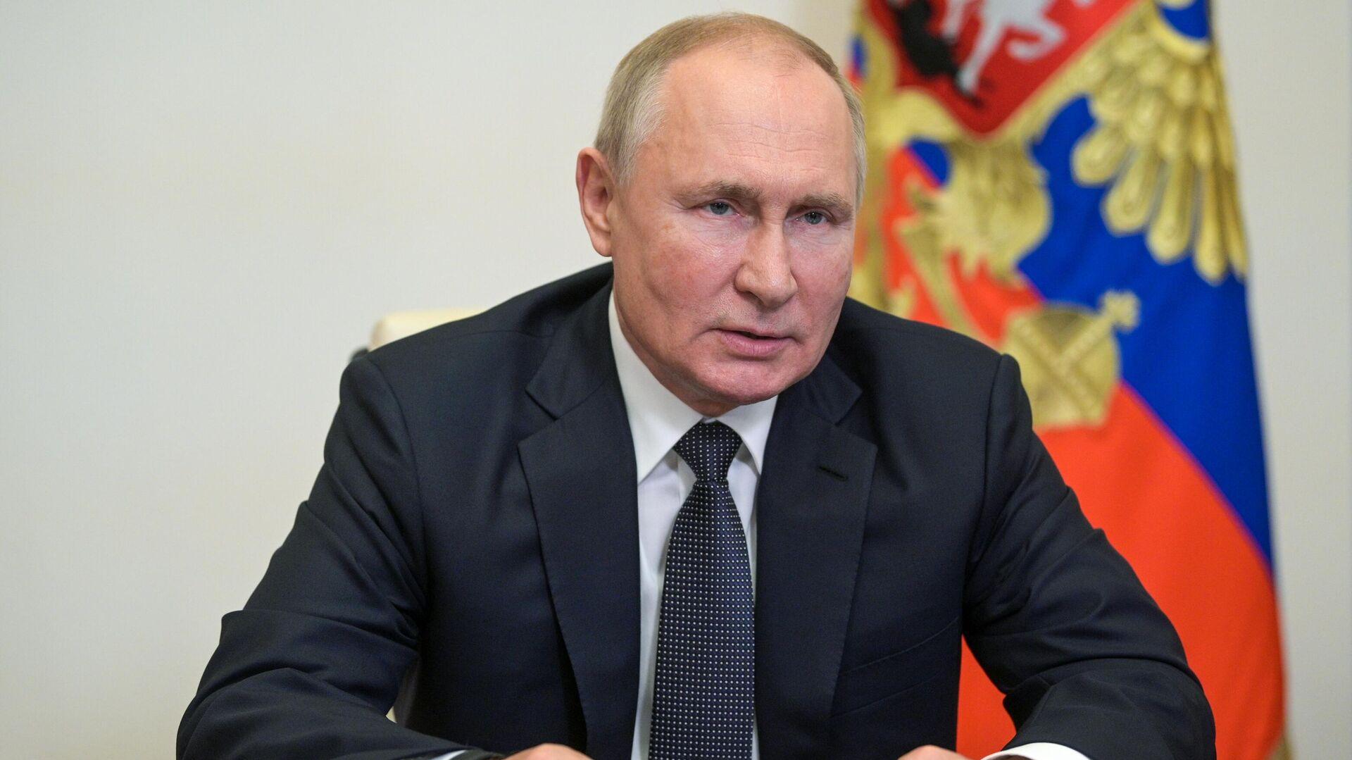 Vladímir Putin,  presidente de Rusia  - Sputnik Mundo, 1920, 30.09.2021