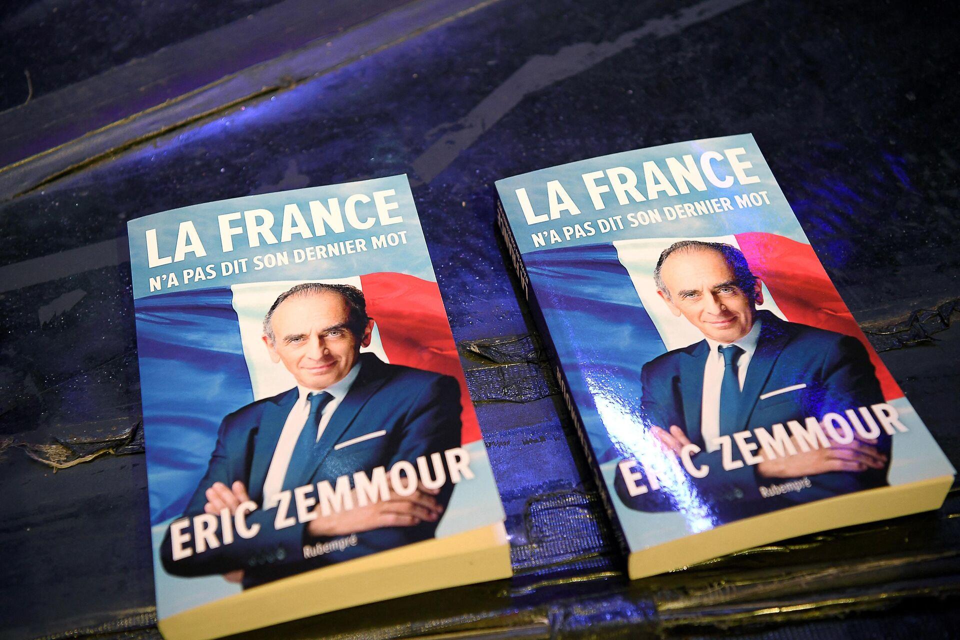 El libro de Eric Zemmour 'Francia no ha dicho su última palabra' - Sputnik Mundo, 1920, 20.09.2021
