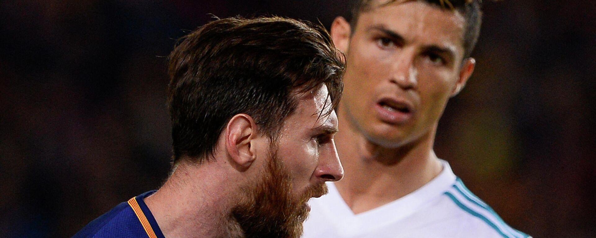 Lionel Messi y Cristiano Ronaldo - Sputnik Mundo, 1920, 20.09.2021