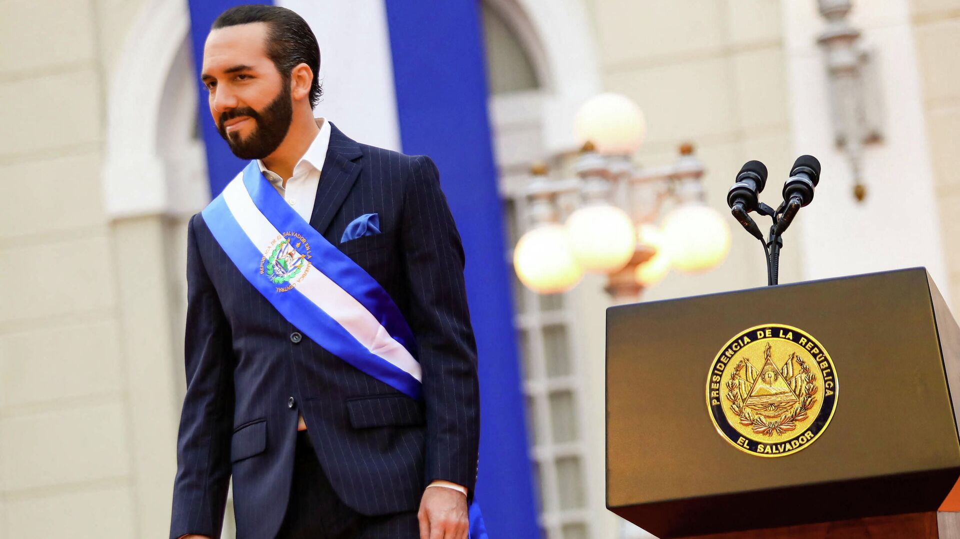Nayib Bukele, presidente de El Salvador - Sputnik Mundo, 1920, 20.09.2021