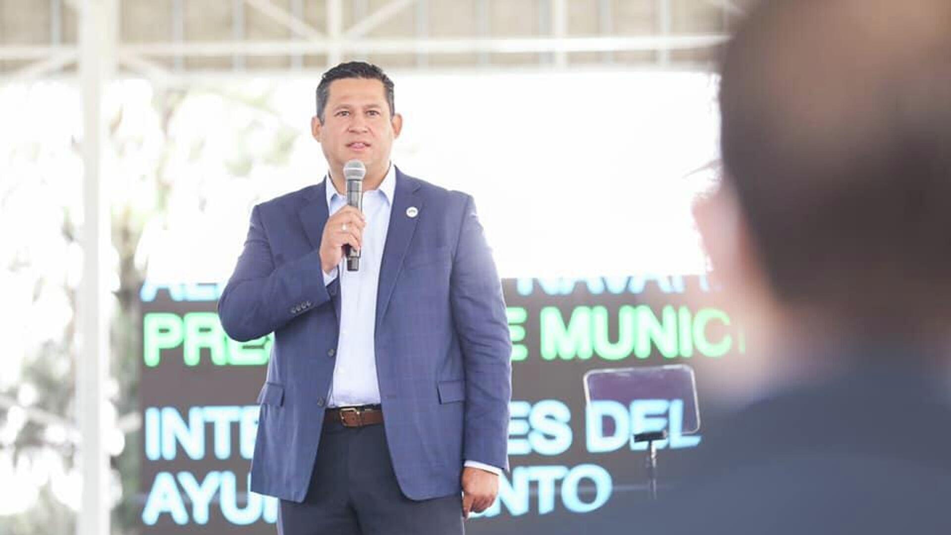 Diego Sinhue Rodríguez, gobernador de Guanajuato  - Sputnik Mundo, 1920, 20.09.2021