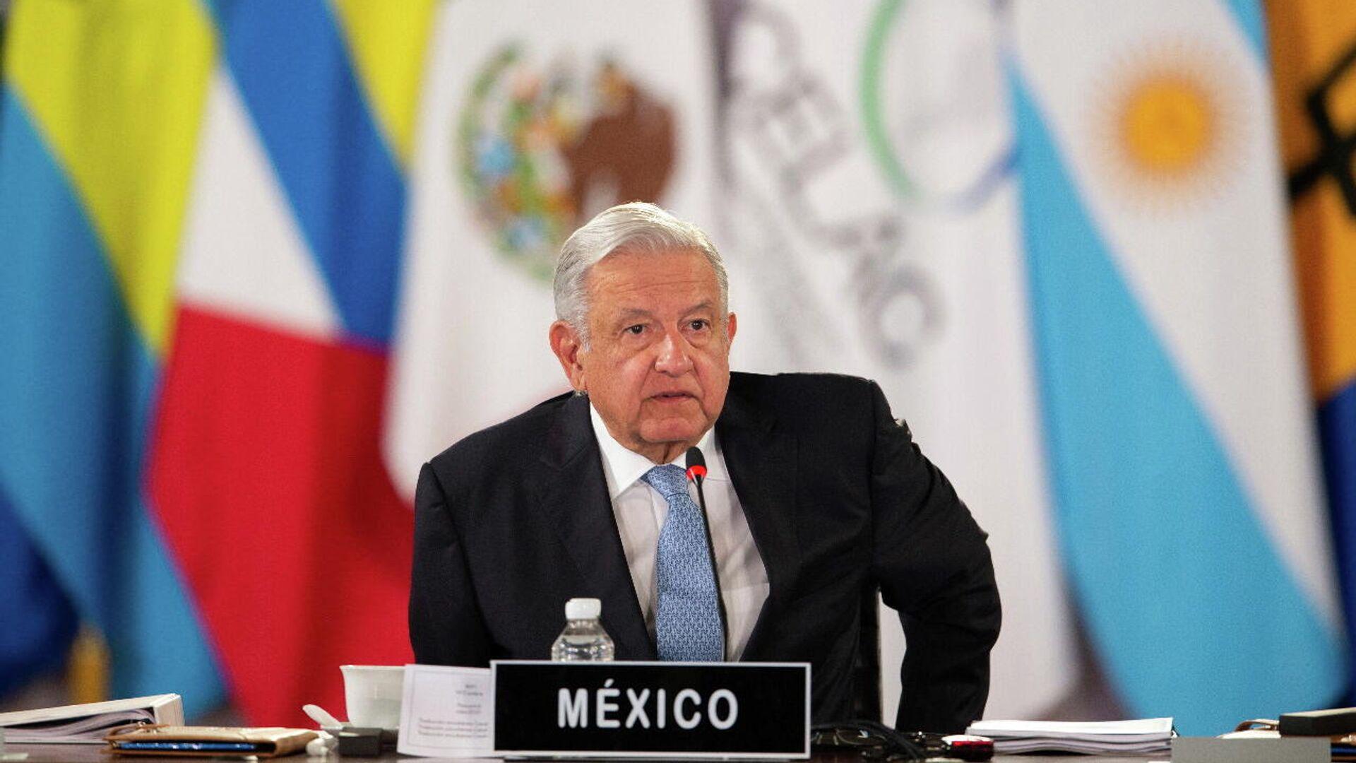 Andrés Manuel López Obrador, presidente de México - Sputnik Mundo, 1920, 20.09.2021