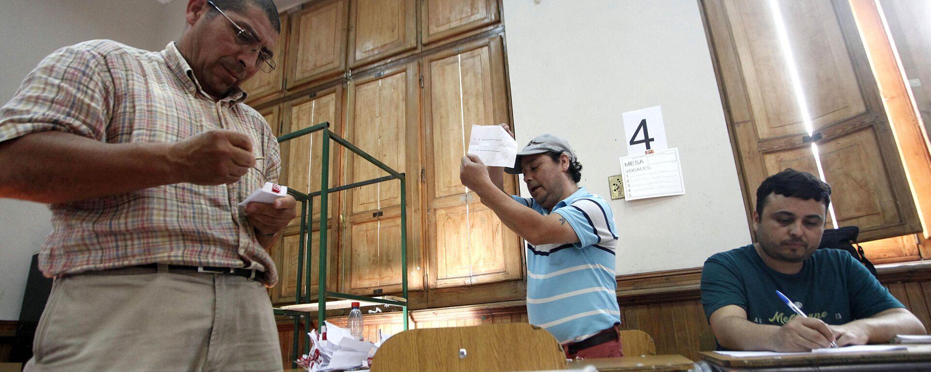 Elecciones presidenciales en Santiago, Chile - Sputnik Mundo, 1920, 20.09.2021