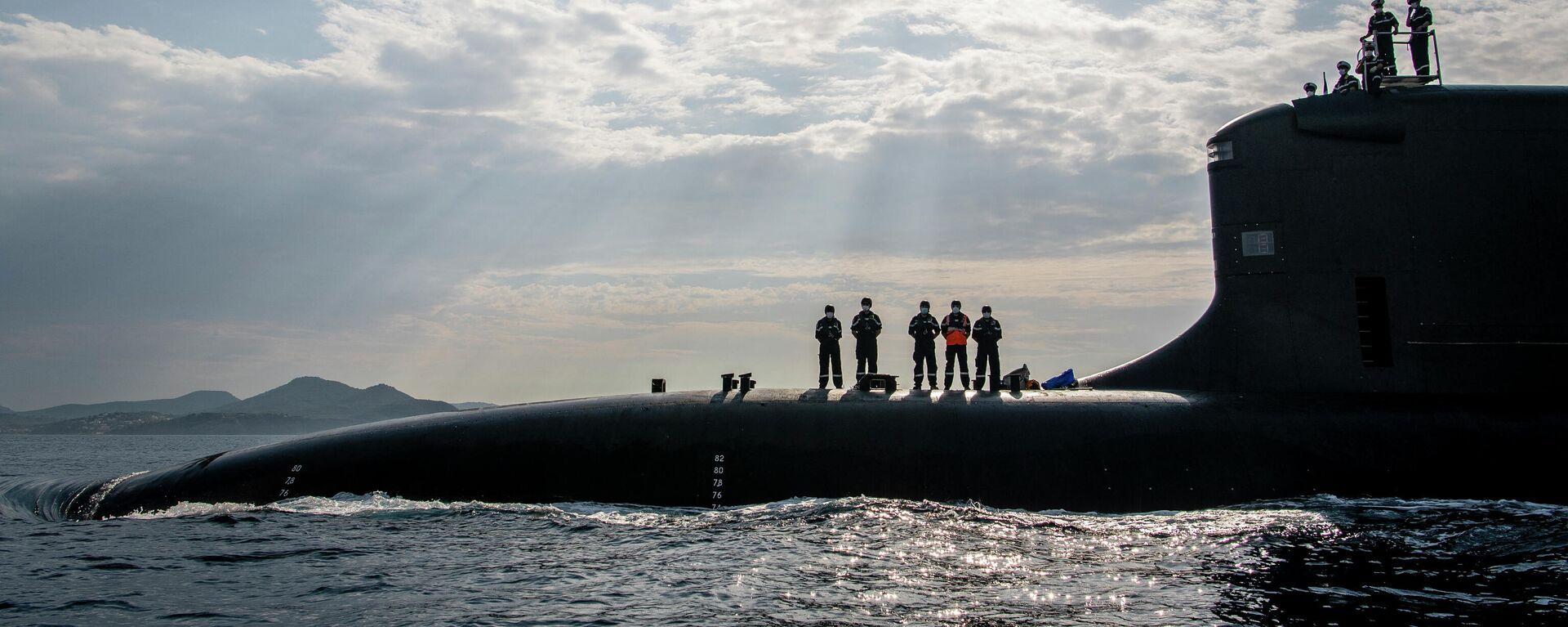 Un submarino de la naviera francesa Naval Group - Sputnik Mundo, 1920, 21.09.2021