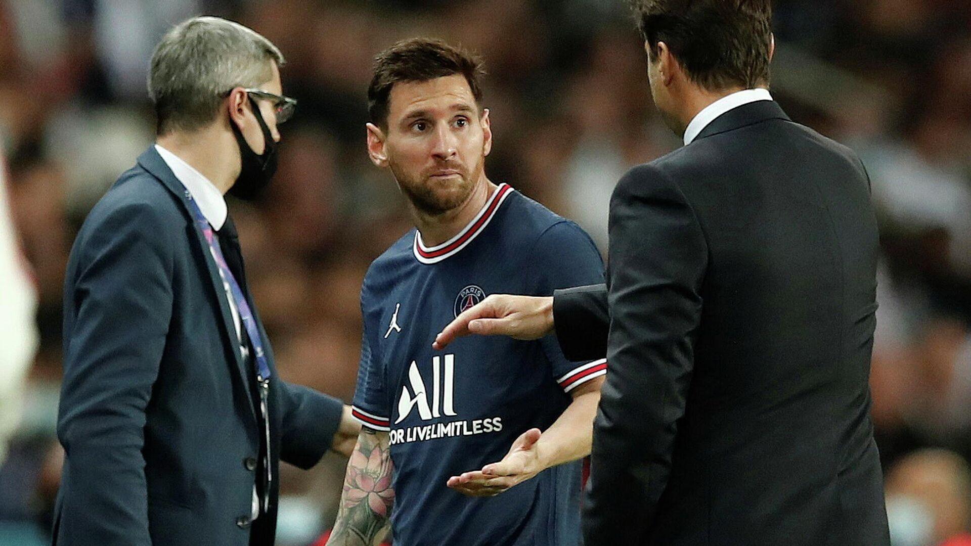 Lionel Messi, futbolista argentino - Sputnik Mundo, 1920, 21.09.2021