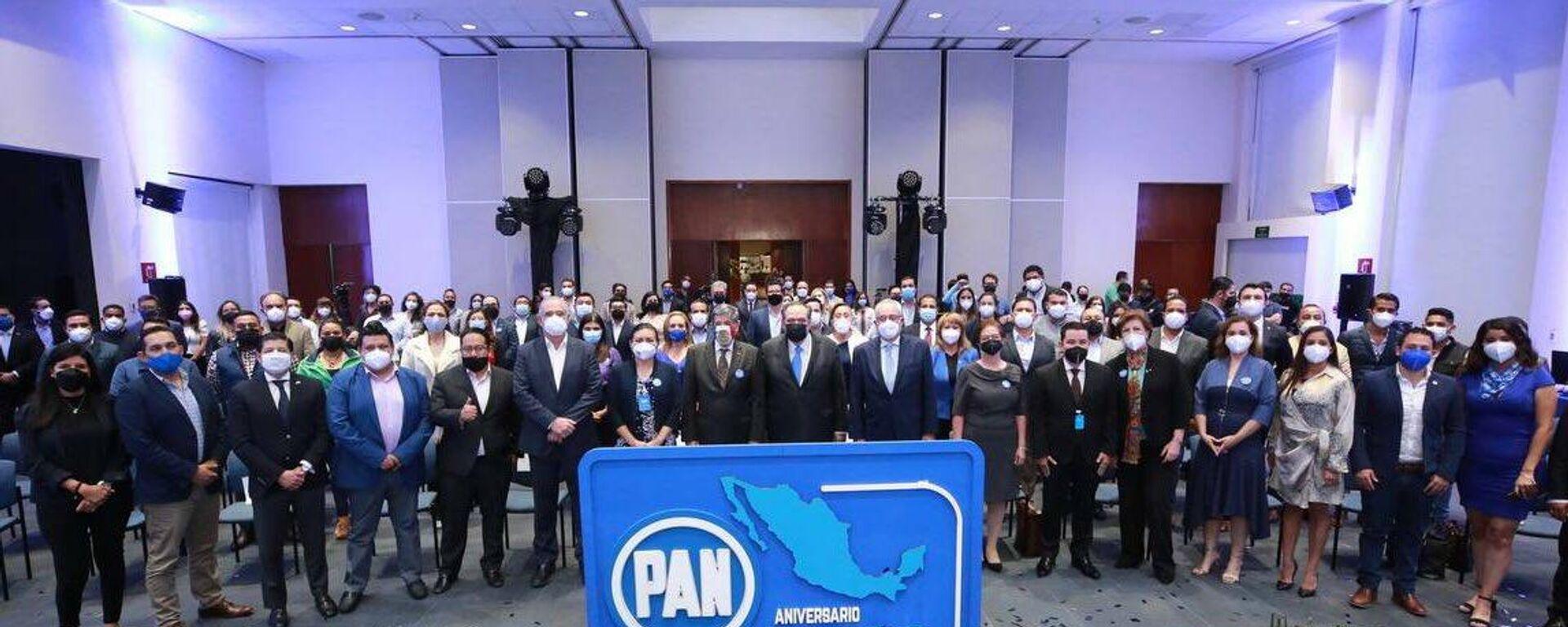 Partido Acción Nacional (PAN) cumple 82 años  - Sputnik Mundo, 1920, 13.10.2021