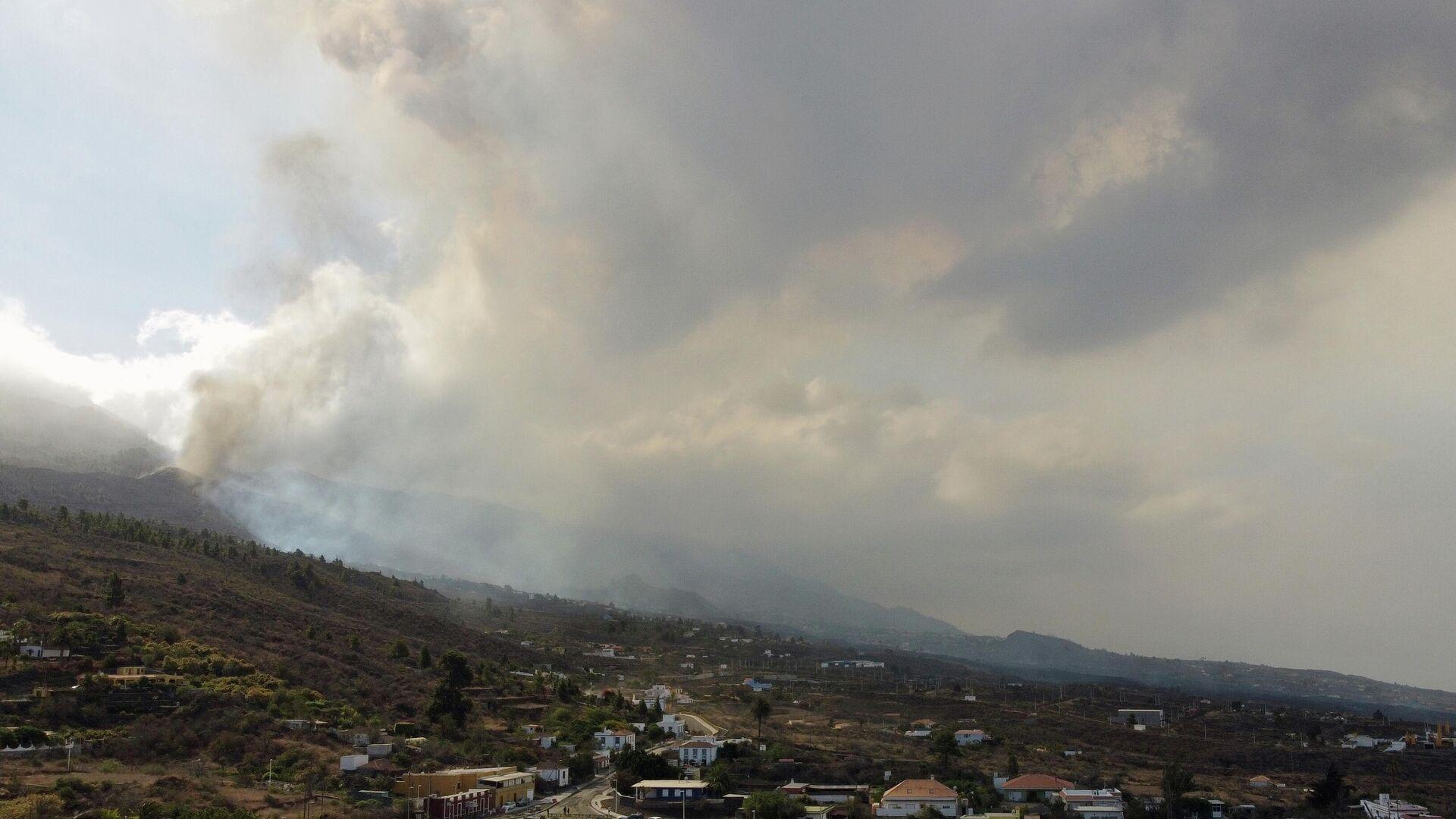 Erupción del volcán en La Palma - Sputnik Mundo, 1920, 21.09.2021