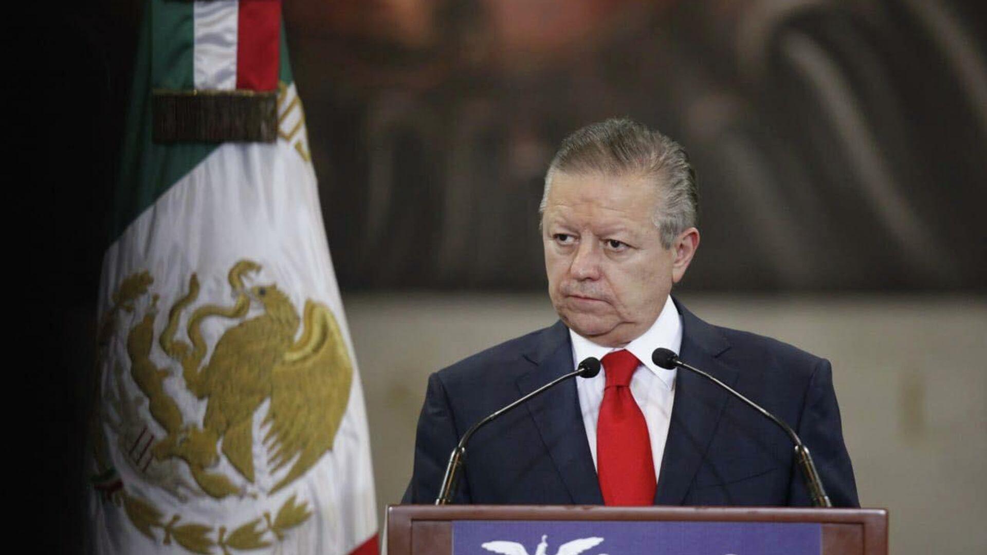 Arturo Zaldívar, ministro presidente de la Suprema Corte de Justicia de la Nación - Sputnik Mundo, 1920, 21.09.2021