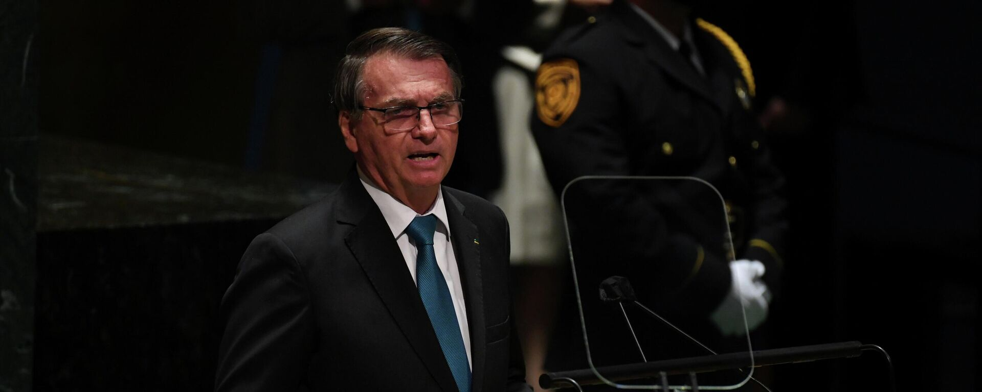 El presidente brasileño, Jair Bolsonaro - Sputnik Mundo, 1920, 21.09.2021