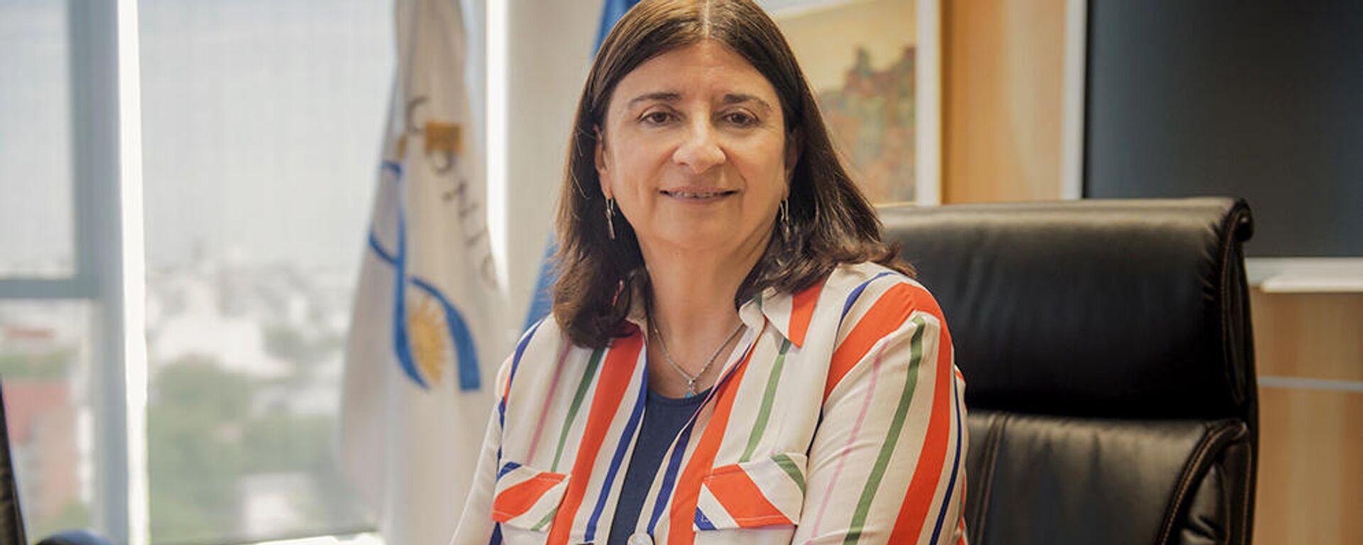 Presidenta del Consejo Nacional de Investigaciones Científicas y Técnicas (Conicet), Ana Franchi  - Sputnik Mundo, 1920, 21.09.2021