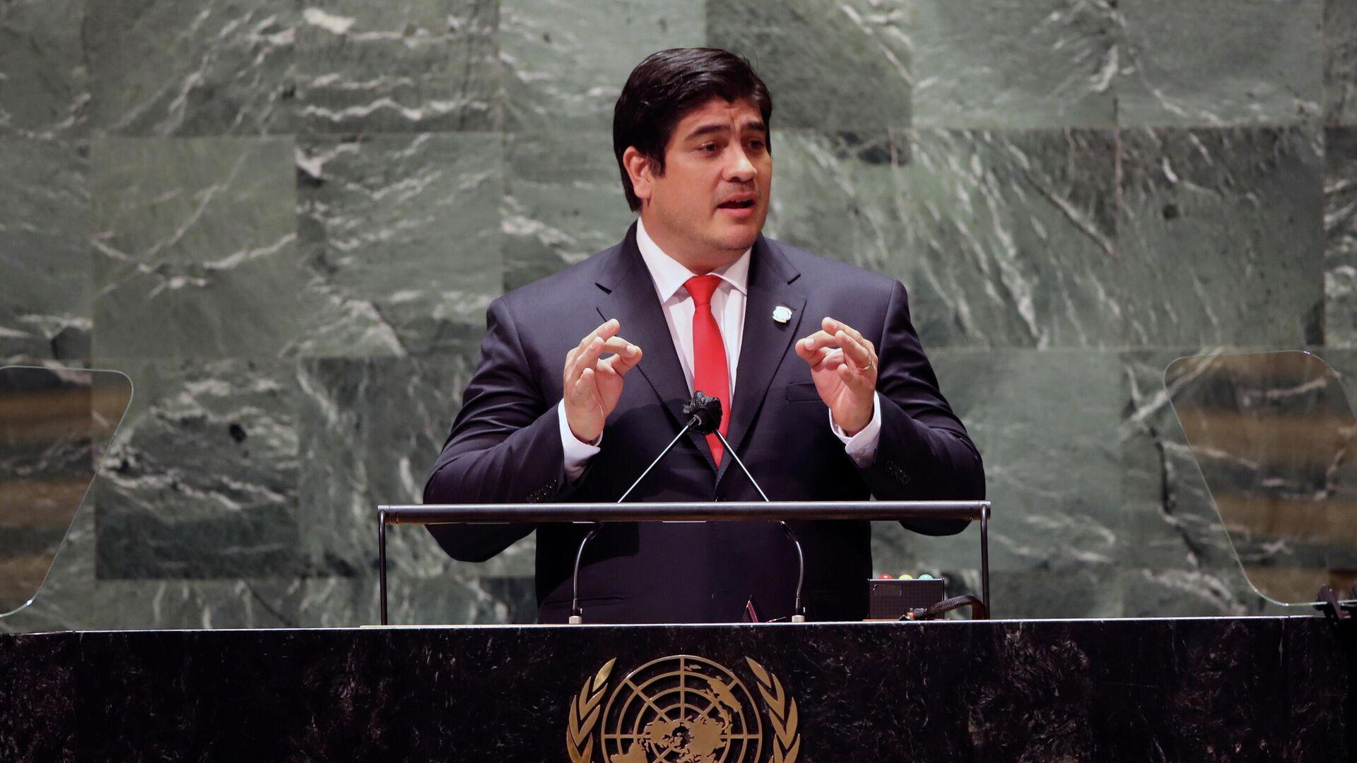 Carlos Alvarado, presidente de Costa Rica - Sputnik Mundo, 1920, 21.09.2021