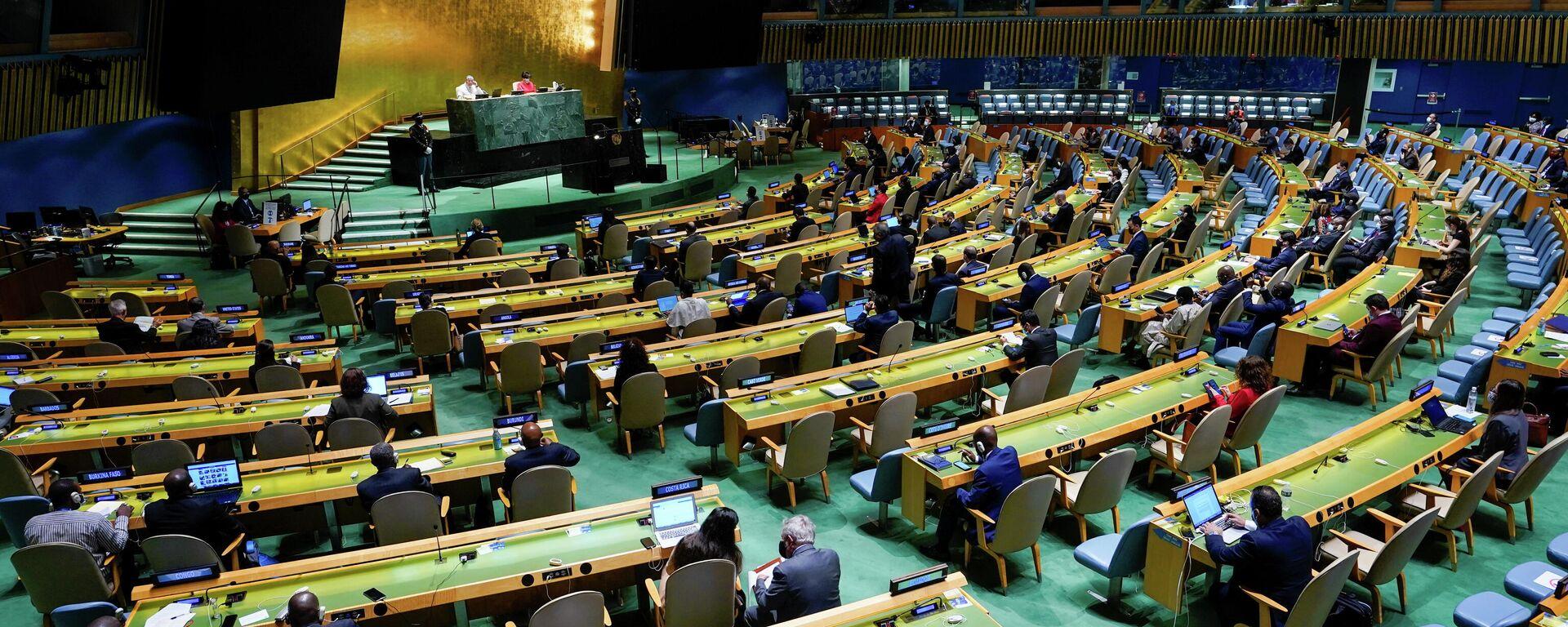 La 76 Sesión de la Asamblea General de la ONU en Nueva York, el 21 de septiembre del 2021 - Sputnik Mundo, 1920, 21.09.2021