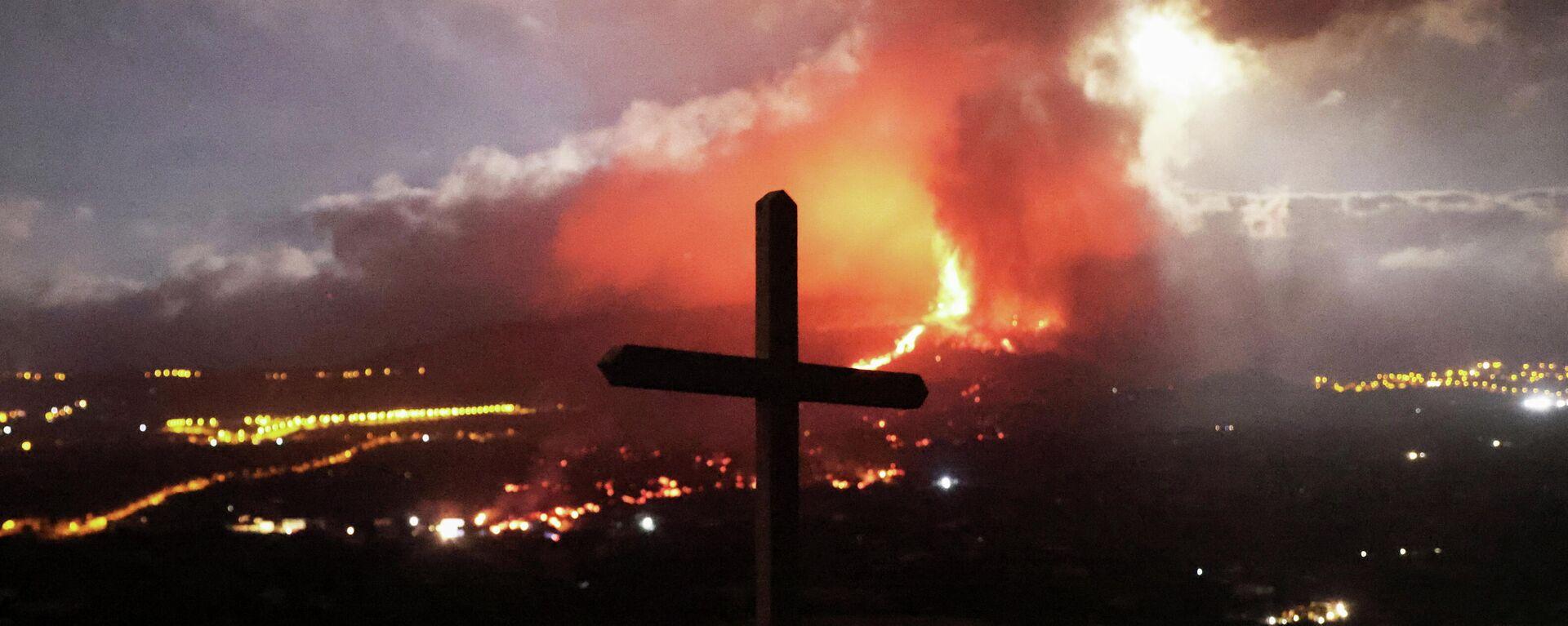 Erupción del volcán en La Palma - Sputnik Mundo, 1920, 28.09.2021