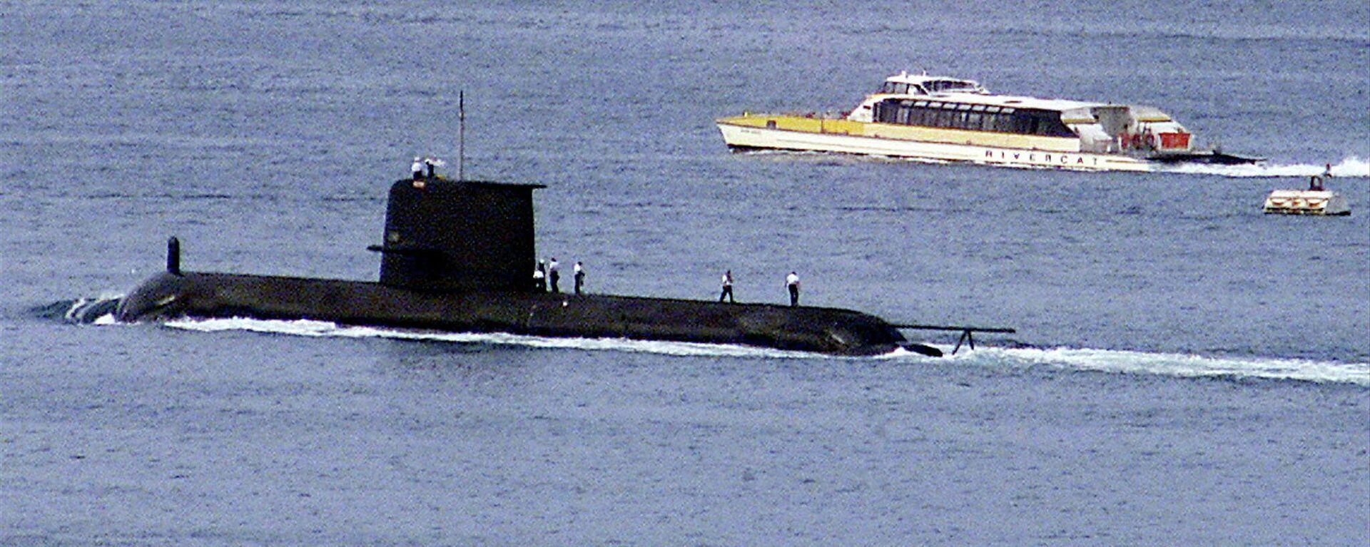 Un submarino australiano (imagen referencial) - Sputnik Mundo, 1920, 22.09.2021