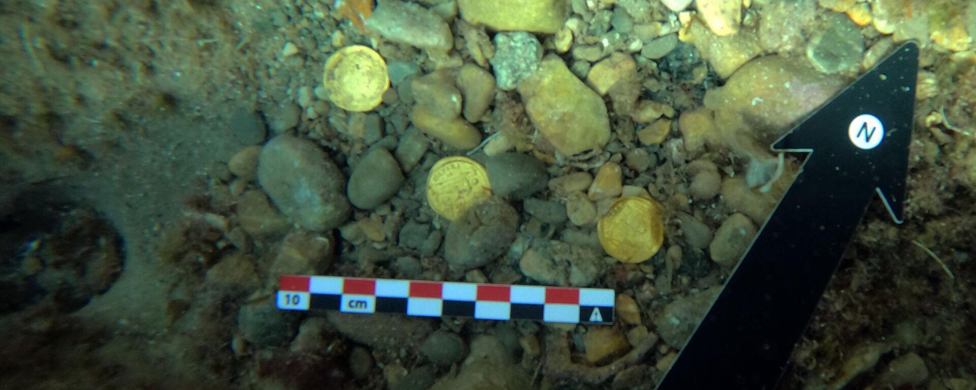 Monedas romanas encontradas en Jávea - Sputnik Mundo, 1920, 22.09.2021