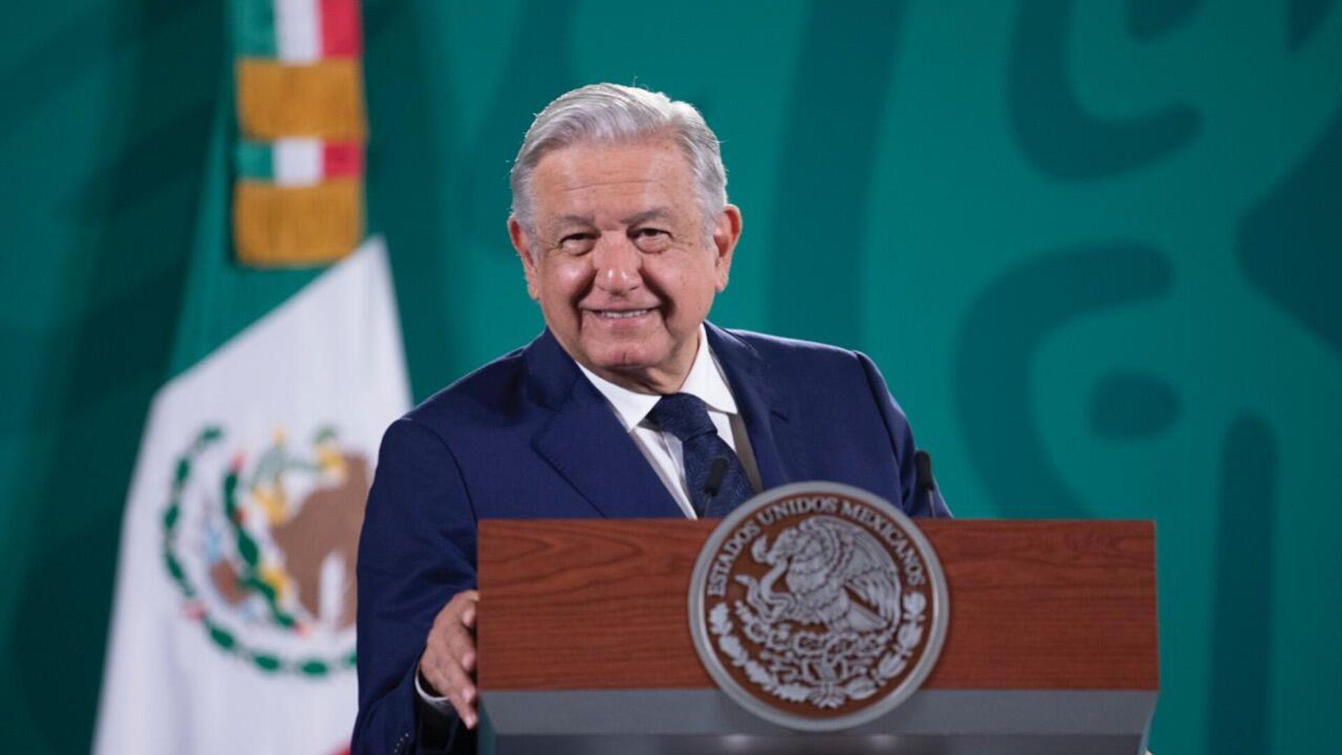 Andrés Manuel López Obrador, presidente de México - Sputnik Mundo, 1920, 22.09.2021